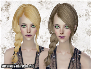 Sims 2 — Skysims Hair 235 by Skysims — Skysims Hair 235