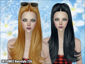 Sims 2 — Skysims Hair 236 by Skysims — Skysims Hair 236
