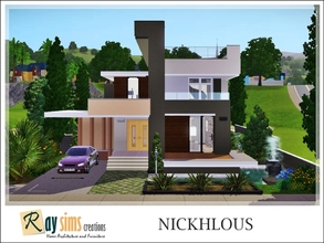 Sims 3 Downloads small modern house