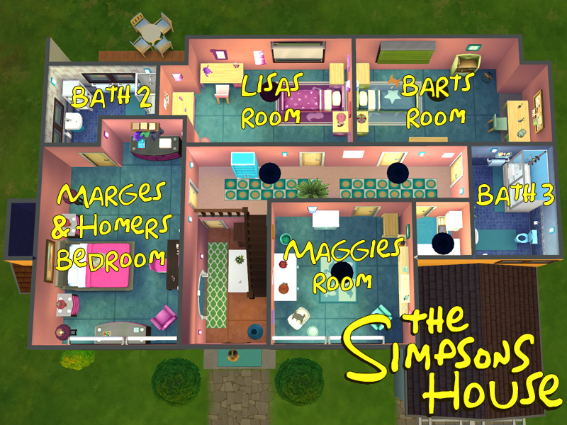 Lainchen S The Simpsons House