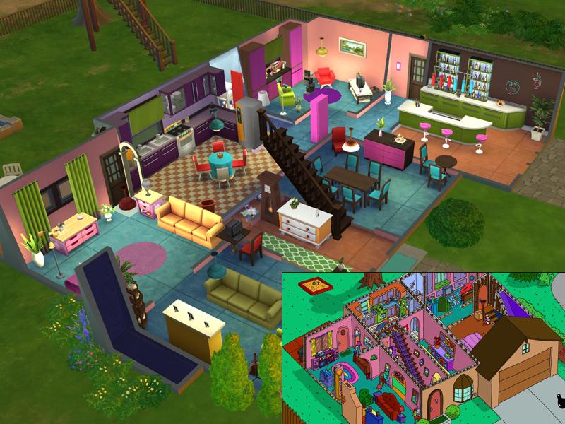 50 best garage ideas - Lainchen s The Simpsons House