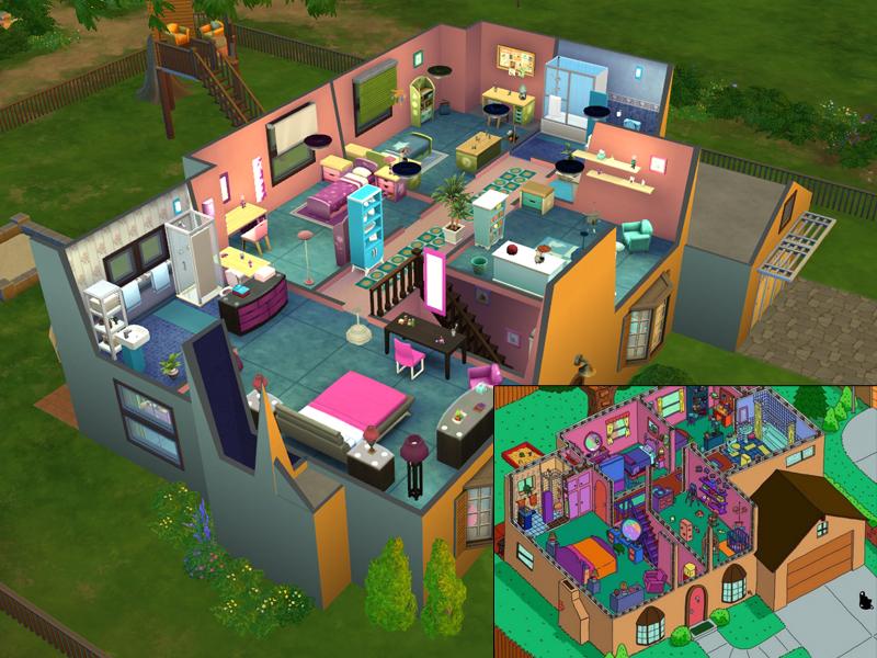 Lainchen S The Simpsons House