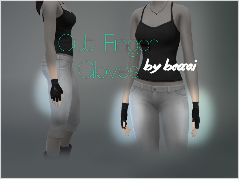 Beccai S Cut Finger Gloves