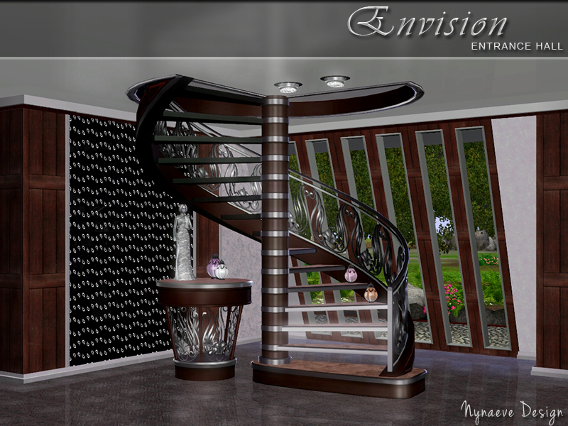 nynaevedesign 39 s envision entrance hall On sims 3 foyer ideas