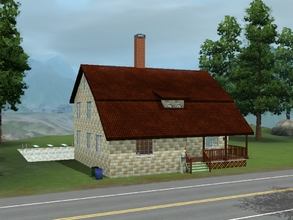 Sims 3 — 6 Room Sears Roebuck House by VampireKetsuki — Yes in the past you could buy the materials for a house from the