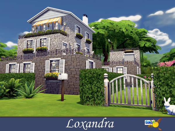 Casa moderna loxandra pirralho do game for Casas modernas the sims 4