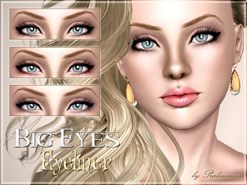 Pralinesims Big Eyes Eyeliner