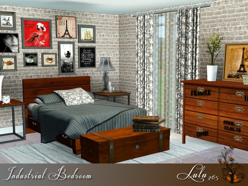 Lulu26539s Industrial Bedroom