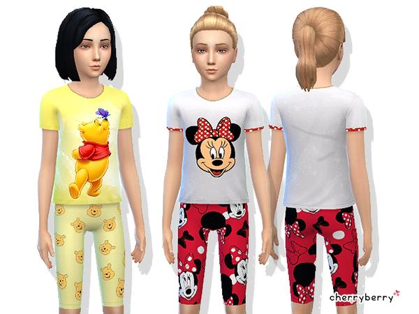 Totally Sims 4 Updates: Cute sleepwear set for girls