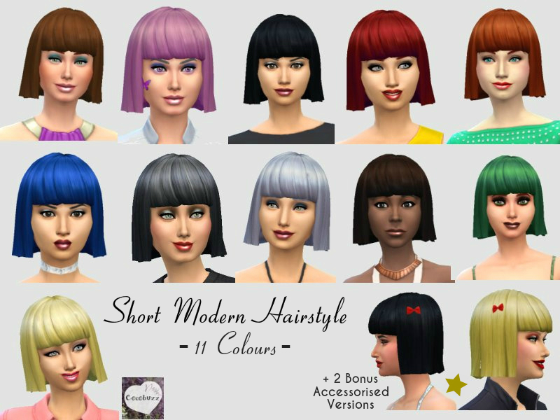 cocobuzz s short modern hairstyle