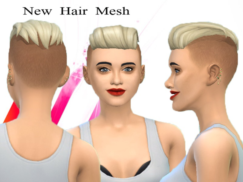 Neissys New Hair Mesh Punk Hair