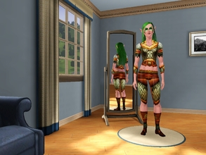 Sims 3 — Elanaria's Armor by egyptiansimlover2 — I saw here on the TSR that there isn't that many NE armors so I decided