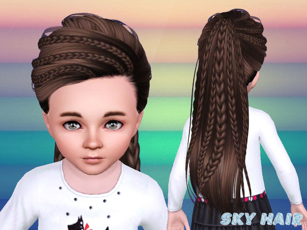Hairstyles Braids Download: Skysims-Hair-243 Set