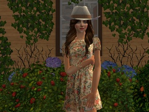 Sims 2 — Ivy by sirok2 — It\'s cowgirl. She likes horses a lot.