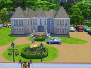 Sims 4 —  by cashynia — I try to build a mansion of Céline Dion at Laval,