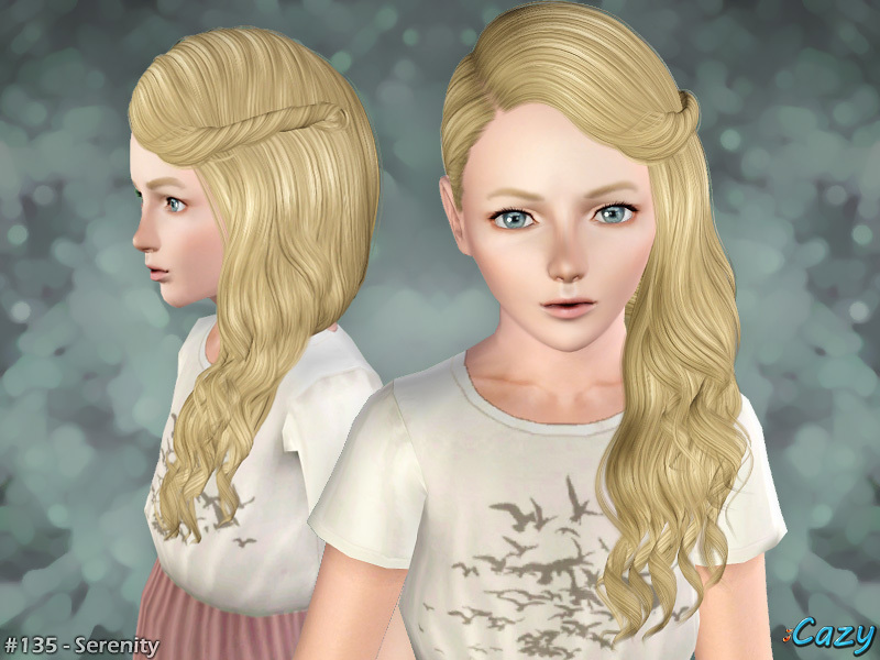 Cazy S Serenity Hairstyle Set