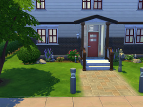 Sims 4 — Espace des Potiers by cashynia — A simple family home with room to grow, featuring two bedrooms.