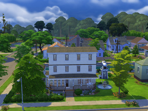 Sims 4 — Flynn and Audet by cashynia — A charming family home, featuring two bedrooms, two bathrooms and space for the