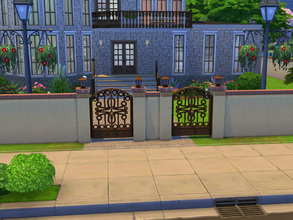 Sims 4 — Blue manor by cashynia — That my first mansion for a rich people, I create that for my first family Dion-Angelil