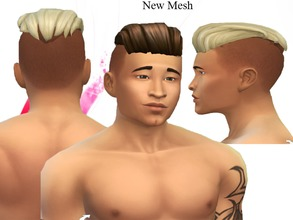 Fabulous Neissys Sims 4 Male Hairstyles Hairstyle Inspiration Daily Dogsangcom