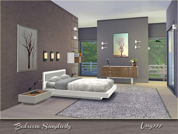 Kayla 39 S Sim Blog Bedroom Simplicity By Ung999