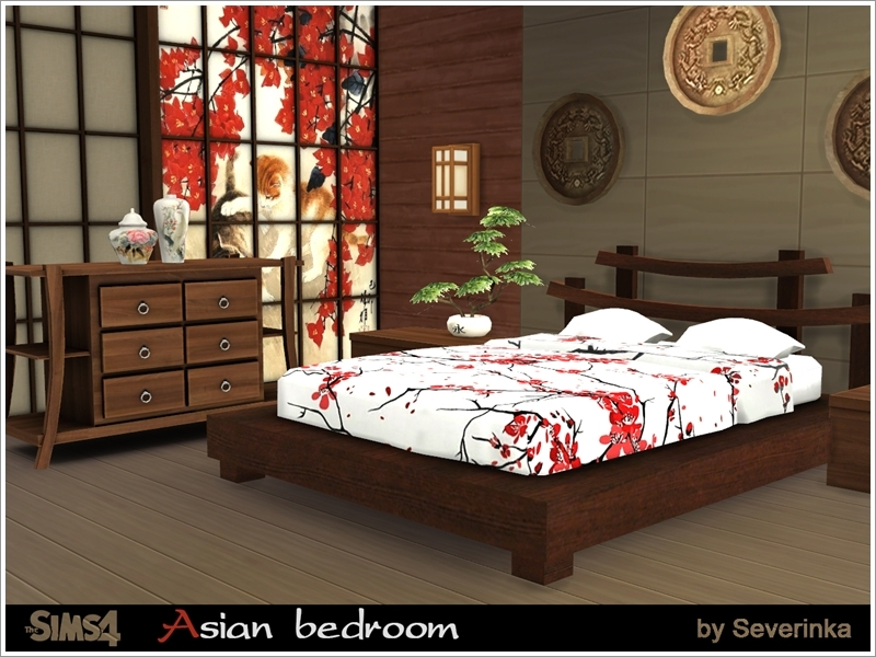 Severinka_\'s Asian bedroom