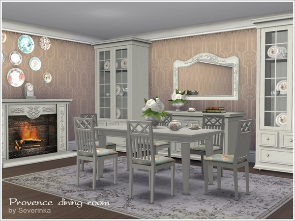 Meble do ts4 tylko the sims polska for Dining room ideas sims 4