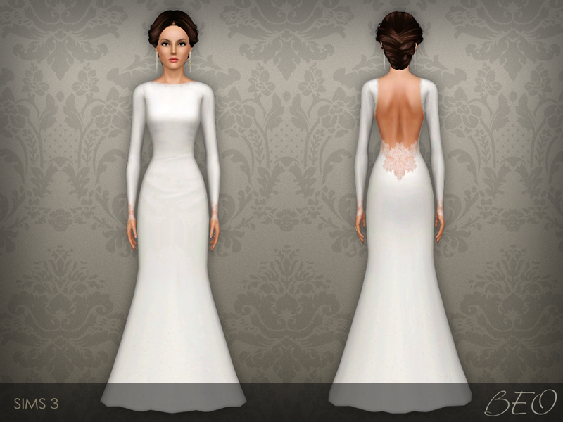 Lace Mermaid Wedding Gowns 004 - Lace Mermaid Wedding Gowns