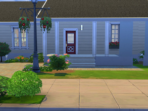 Sims 4 — My sweet home by cashynia — A little house based on the plan dessin Drummond W3132. # bedrooms, 1 bathroom,
