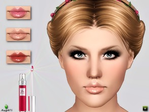 Sims 3 — Vivid Shine Gloss by Margeh-75 — -a beautiful plump gloss with a lovely shine to keep your sims lips moisturized