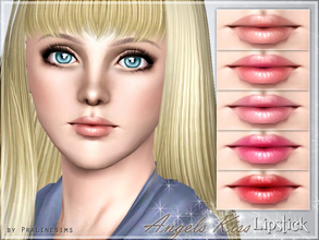 Sims 3 — Angels Kiss Lipstick by Pralinesims — New lipstick for your sims! Your sims will love their new look ;) - Fits