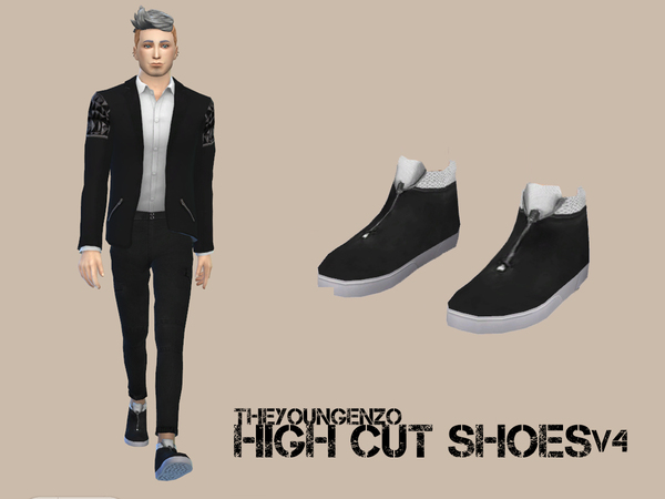 Theyoungenzo S High Cut Shoes V4