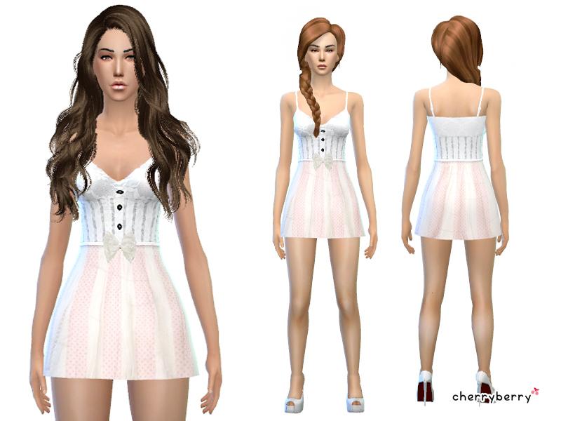 Cherryberrysim S Angelic Halloween Dress