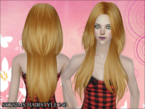 Sims 2 — Skysims Hair 240 by Skysims — Skysims Hair 240