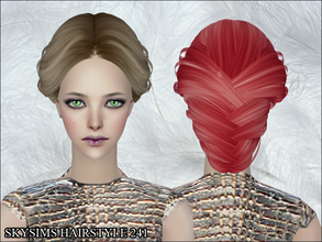 Sims 2 — Skysims Hair 241 by Skysims — Skysims Hair 241