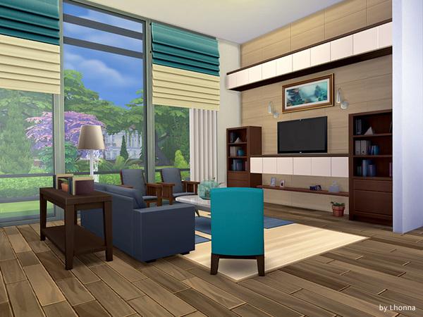 Casa moderna panorama the sims 4 pirralho do game for Casa moderna 2014 espositori