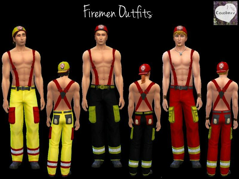 adult fireman pants