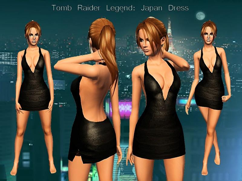 Karakratm S Tomb Raider Japan Dress