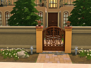 Sims 4 — Spain Hacienda by cashynia — This house countain 4 bedrooms, one master bedroom, two children one and one for a