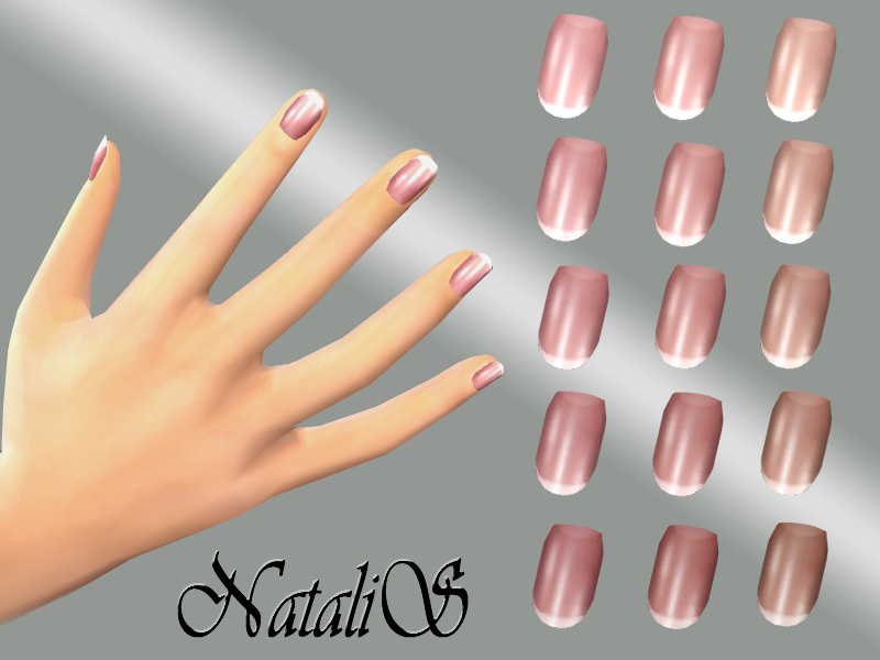 NataliS_TS4 French nails collection FT -FE