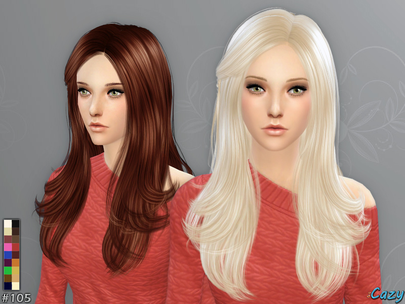 Cazy's Starlight Hairstyle - Sims 4
