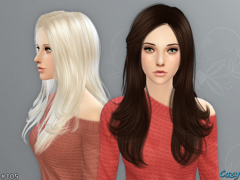 Cazys Starlight Hairstyle Sims 4