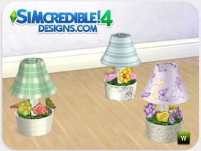 Sims 4 — Dolls House Lamp by SIMcredible! — As our girls were missing this set, we recreated it now for sims 4. This lamp