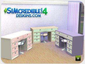 Sims 4 — Dolls House Dresser by SIMcredible! — As our girls were missing this dresser we recreated it now for sims 4. The