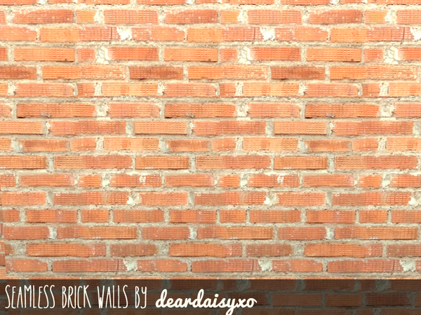 deardaisyxo 39 s seamless brick walls. Black Bedroom Furniture Sets. Home Design Ideas