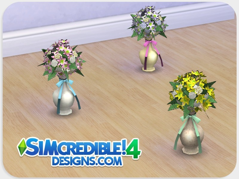 Simcredible S Dolls House Flowers Vase