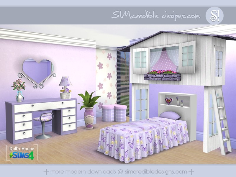 simcredible 39 s dolls house. Black Bedroom Furniture Sets. Home Design Ideas