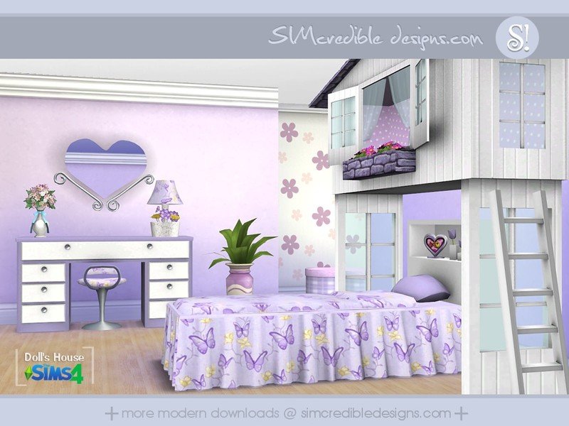 Simcredible 39 s dolls house - Sims 3 babyzimmer ...