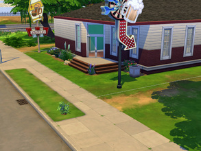 Sims 4 — Bar and Grill! by cashynia — Nice place to take a drink or a food with a good friend or just your family!
