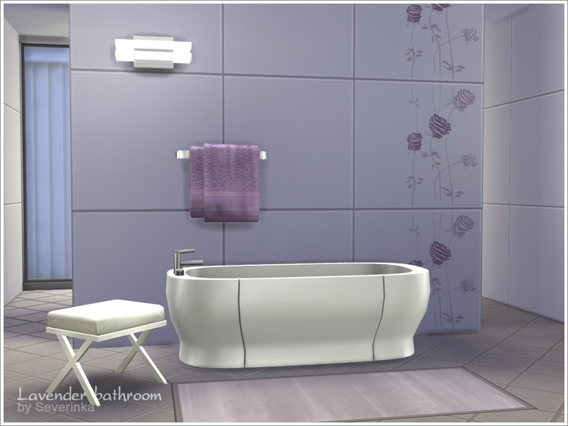 Severinka S Lavender Bathroom